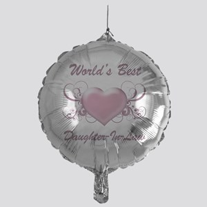 World's Best Daughter-In-Law (Heart) Mylar Balloon