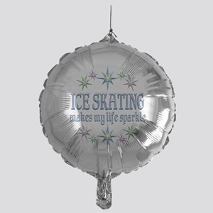 Ice Skating Sparkles Mylar Balloon