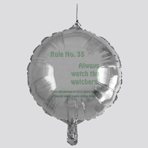RULE NO. 35 Mylar Balloon