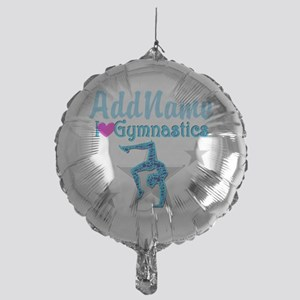 FIERCE GYMNAST Mylar Balloon