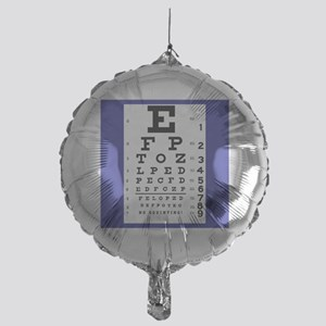 Eye Chart Balloon