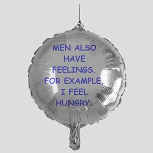 feelings Mylar Balloon