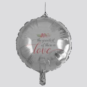 Greatest Love Mylar Balloon