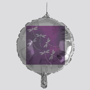 Dragonflies on water Mylar Balloon