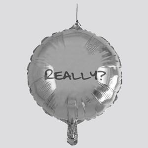 Really for black Mylar Balloon