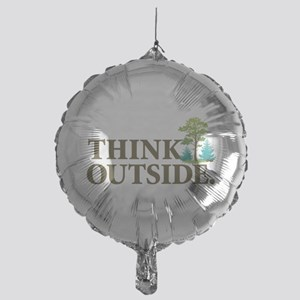 Think Outside Mylar Balloon
