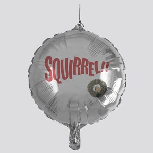 SQUIRREL Christmas Mylar Balloon