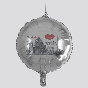 I love Berlin Mylar Balloon
