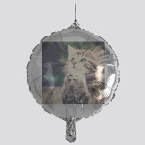 Cat Praying Mylar Balloon