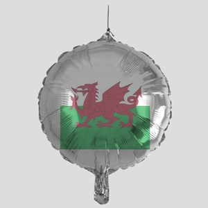 Flag of Wales Mylar Balloon