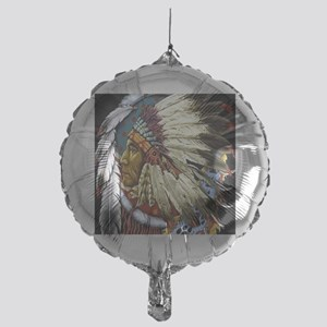 CHIEF WHITE CLOUD Mylar Balloon