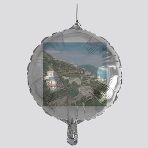 Itally - Amalfi Coastline  Mylar Balloon