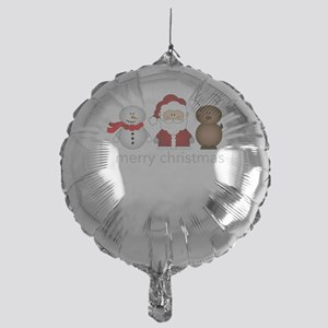 Merry Christmas Characters Mylar Balloon