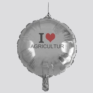I Love Agriculture Balloon