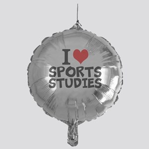 I Love Sports Studies Balloon
