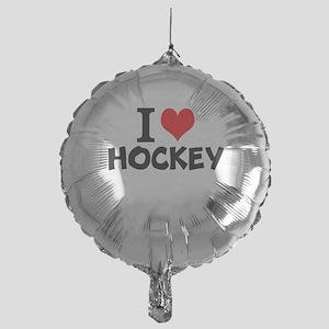 I Love Hockey Balloon