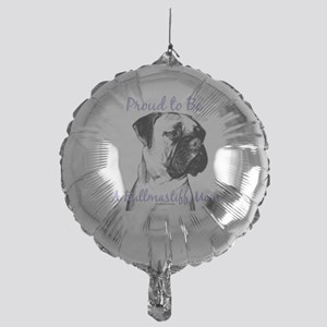 Bullmastiff 2 Mylar Balloon