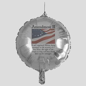 2nd Amendment Mylar Balloon