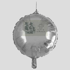 Bluegrass Mylar Balloon: Sex, Drugs, Flatt & Scrug