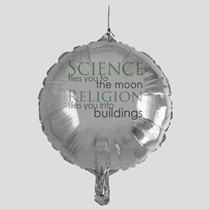 Science and Religion Mylar Balloon