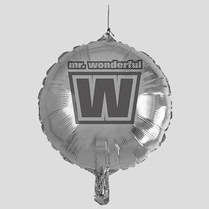 Mr. Wonderful Mylar Balloon