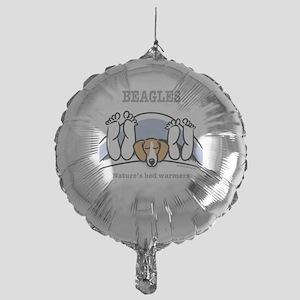 Beagle bed warmers Mylar Balloon