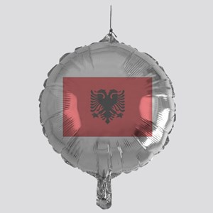 Albanian flag Mylar Balloon