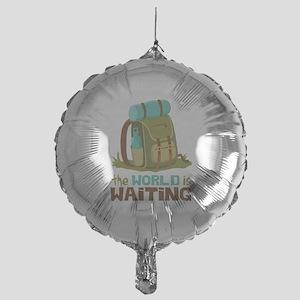 The World is Waiting Balloon