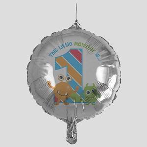 Little Monster 1st Birthday Balloon