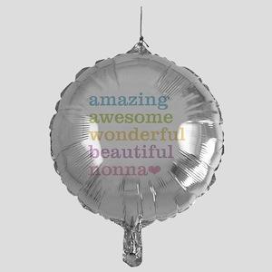 Nonna - Amazing Awesome Mylar Balloon