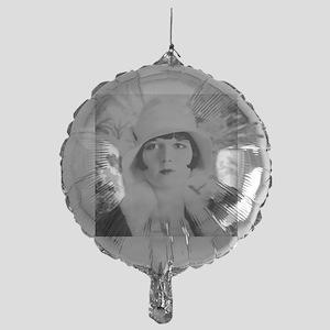louise brooks silent movie star Mylar Balloon