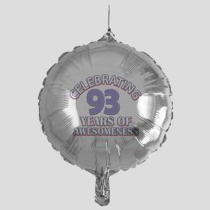 Celebrating 93 Years Mylar Balloon