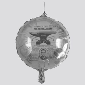 Acme Pike Ad B&w Mylar Balloon
