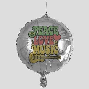 Peace-Love-Music Balloon