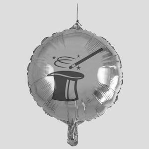 Magician top stick Mylar Balloon