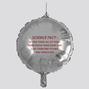 Science Fact Mylar Balloon