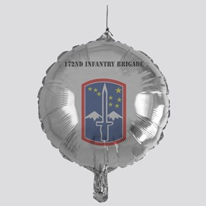 SSI - 172nd Infantry Brigade with Te Mylar Balloon