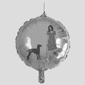 Vizsla11 Mylar Balloon