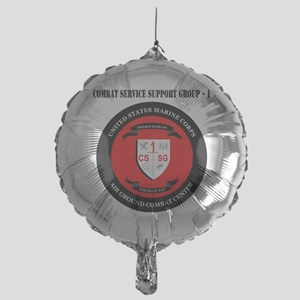 Combat Service Support Group - 1 wit Mylar Balloon