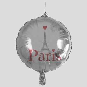 I love Paris Mylar Balloon