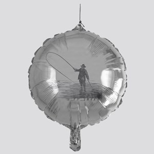 Fly Fishing Mylar Balloon