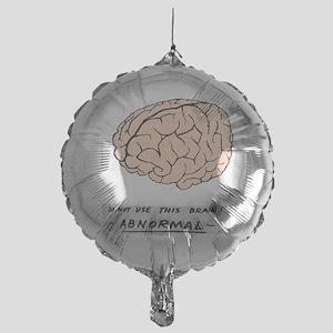 young-f-brain-no-yf-black-text Mylar Balloon