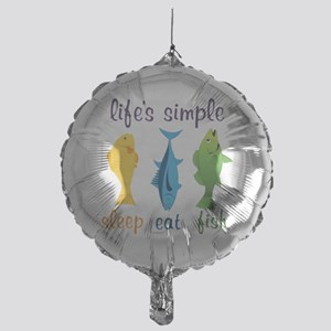 Lifes Simple Mylar Balloon