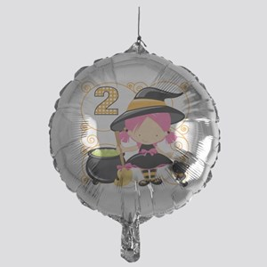 Girls Halloween 2 Mylar Balloon