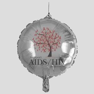 AIDSHIV-Tree Mylar Balloon