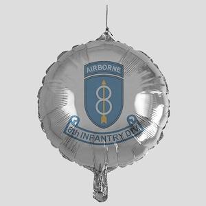 Army-8th-Infantry-Div-7-Bonnie Mylar Balloon