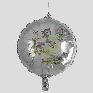 lamb Mylar Balloon