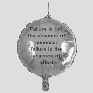 what is failure Mylar Balloon