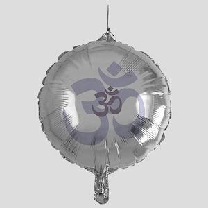 om aum chant symbol Mylar Balloon