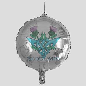 Thistles Scotland Mylar Balloon